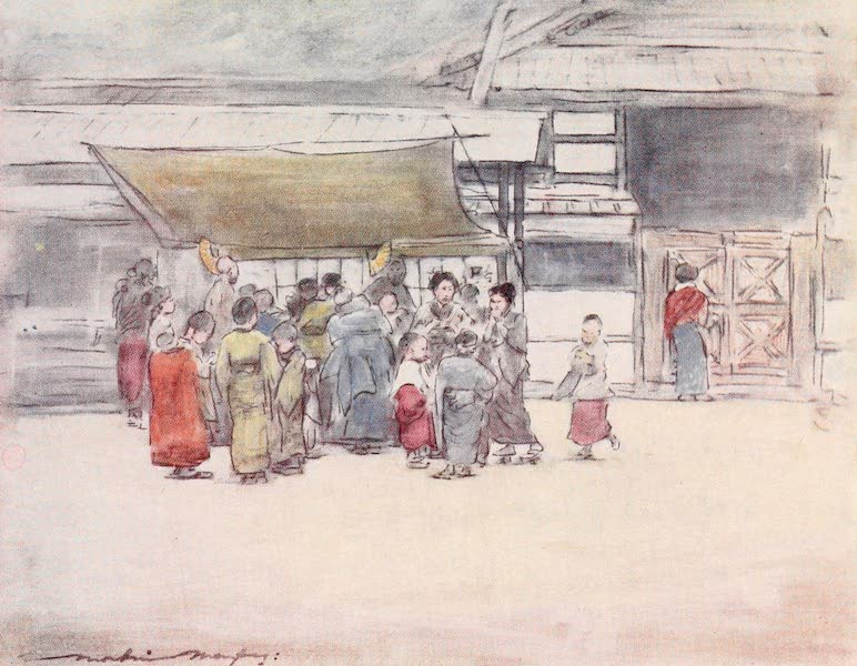 Japan : A Record in Colour - A Rush to the Stall (1901)