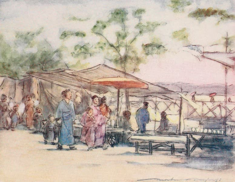 Japan : A Record in Colour - The End of the Day and the End of the Festival (1901)