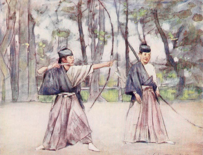 Japan : A Record in Colour - Archers (1901)