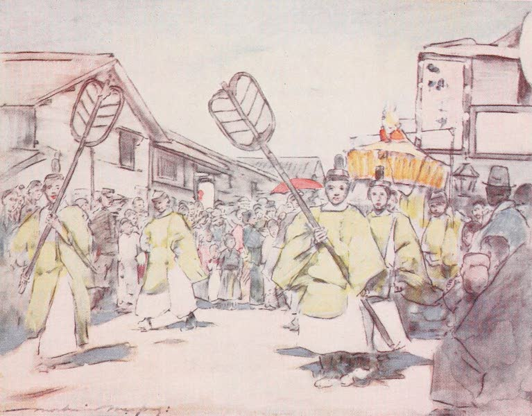 Japan : A Record in Colour - A Religious Procession (1901)