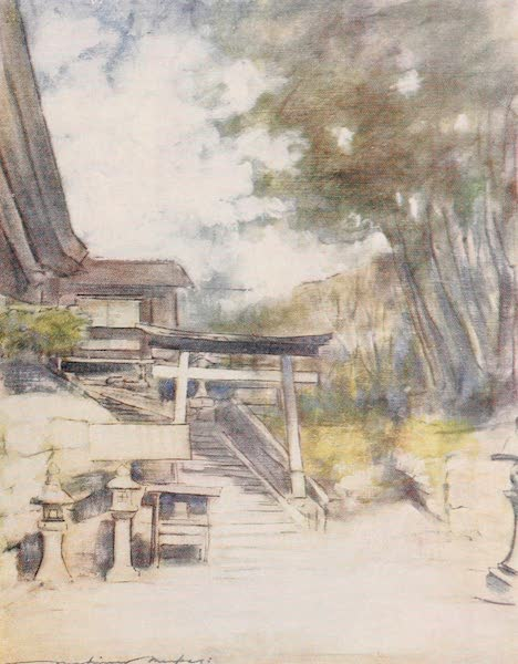 Japan : A Record in Colour - By the Side of the Temple (1901)