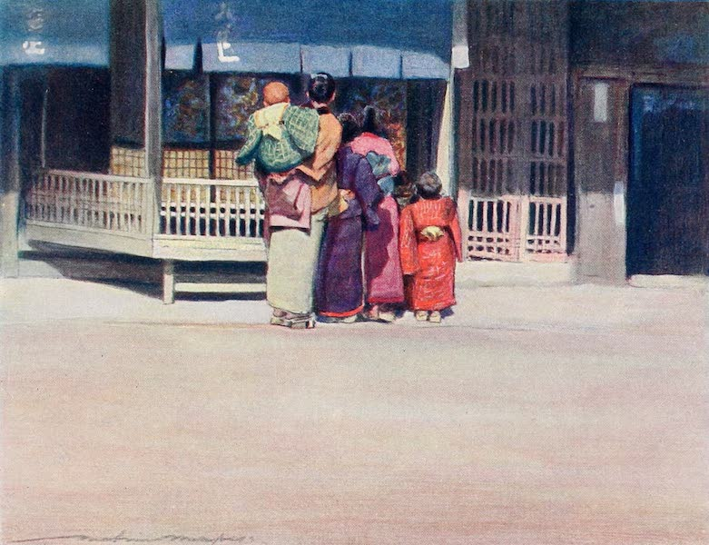 Japan : A Record in Colour - A Family Group (1901)