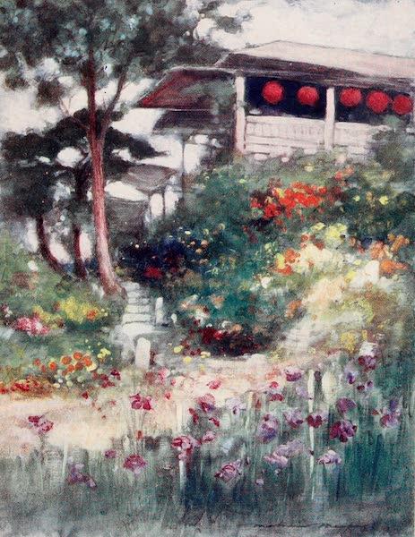 Japan : A Record in Colour - An Iris Garden (1901)