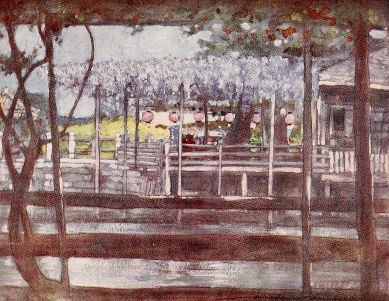 Japan : A Record in Colour - A Wistaria Garden (1901)