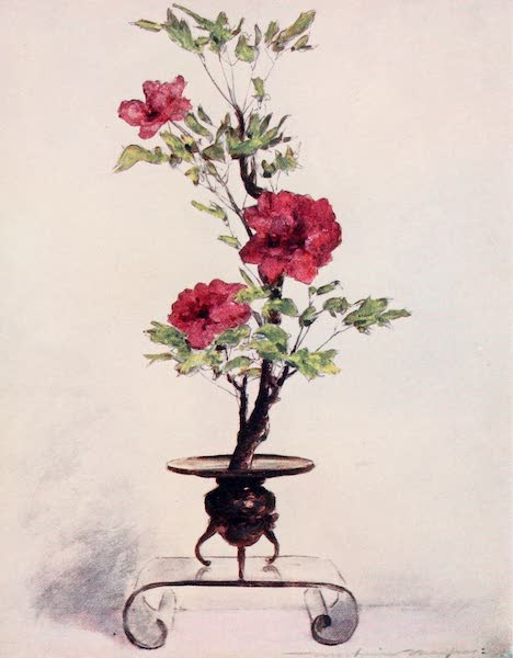 Japan : A Record in Colour - Flower-placing (1901)