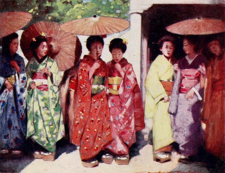 Japan : A Record in Colour - Daughters of the Sun (1901)