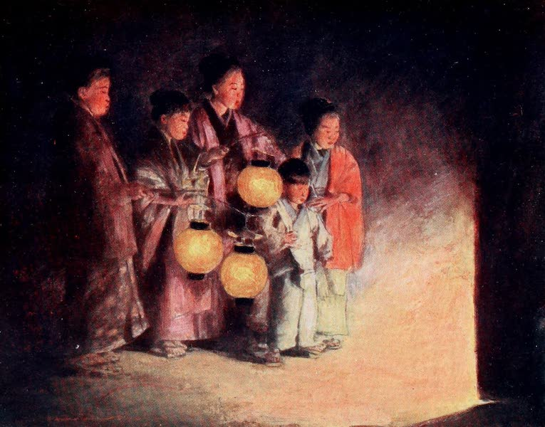 Japan : A Record in Colour - By the Light of the Lantern (1901)