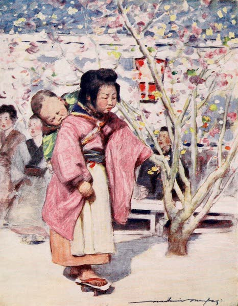 Japan : A Record in Colour - Baby and Baby (1901)