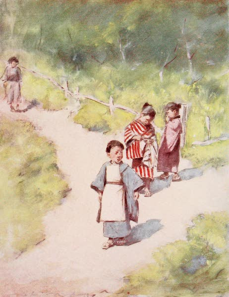 Japan : A Record in Colour - A Sunny Stroll (1901)