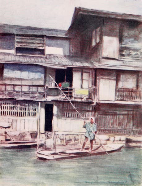 Japan : A Record in Colour - A By-canal (1901)