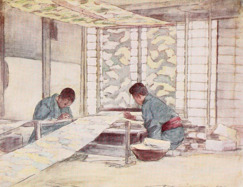 Japan : A Record in Colour - Finishing Touches (1901)