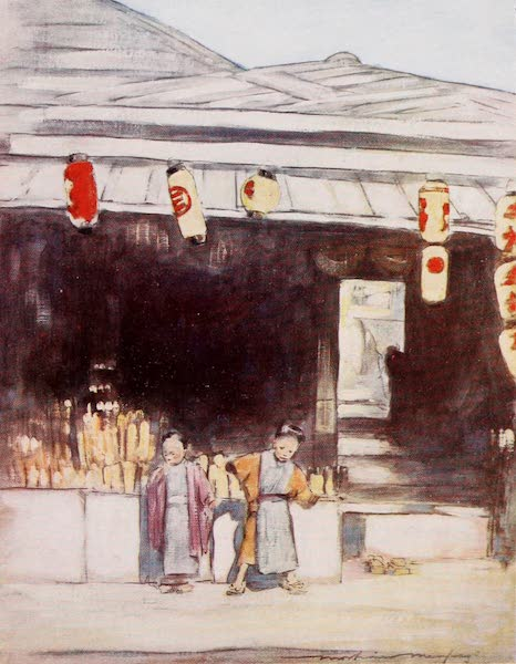 Japan : A Record in Colour - A Sign-painter's (1901)
