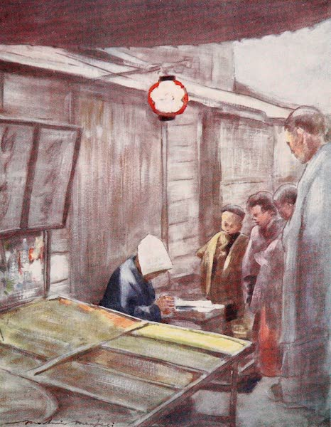 Japan : A Record in Colour - A Sweet-stuff Stall  (1901)
