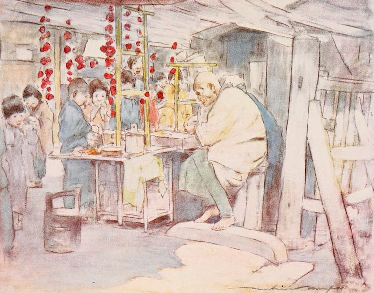 Japan : A Record in Colour - Buying Sweets (1901)