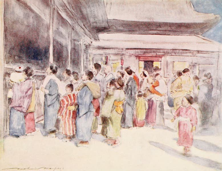 Japan : A Record in Colour - Lookers-on (1901)