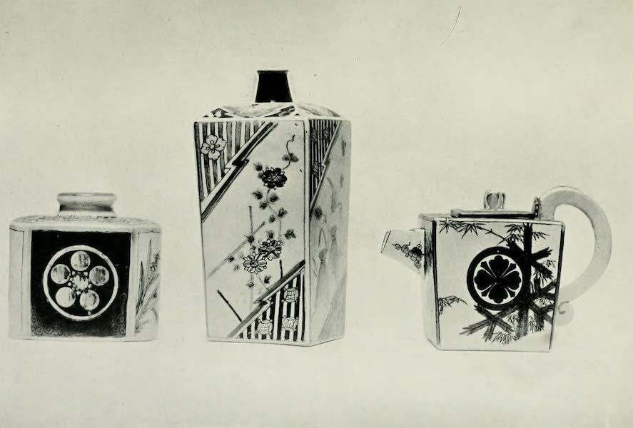 Japanese Porcelain - Tea Bottle,