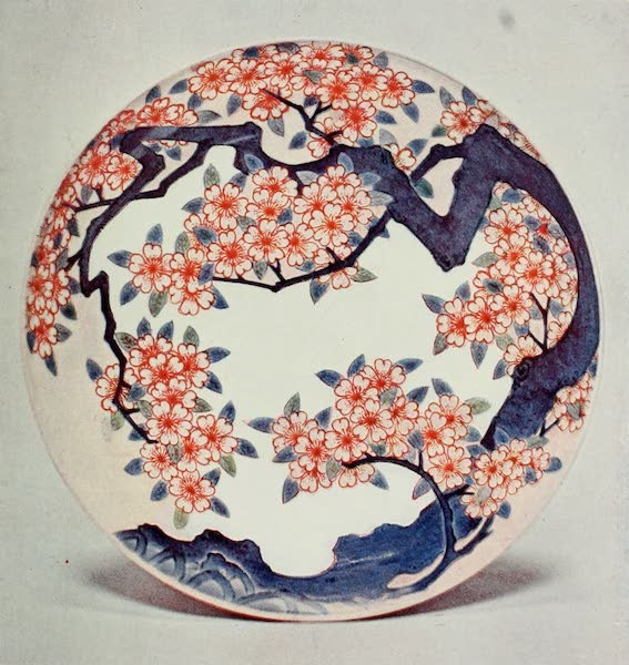 Japanese Porcelain - Hizen Saucer Dish From the Okawachi Pottery (1909)