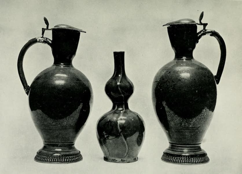 Japanese Porcelain - Two Covered Jugs and a Vase (1909)