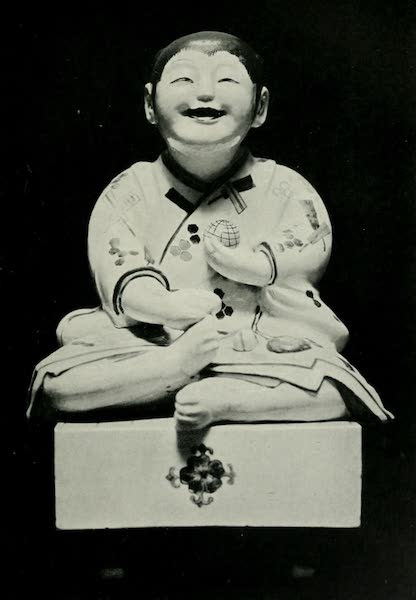 Japanese Porcelain - Figure of a Child (1909)