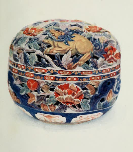 Japanese Porcelain - An Imari Box of many Colours (1909)