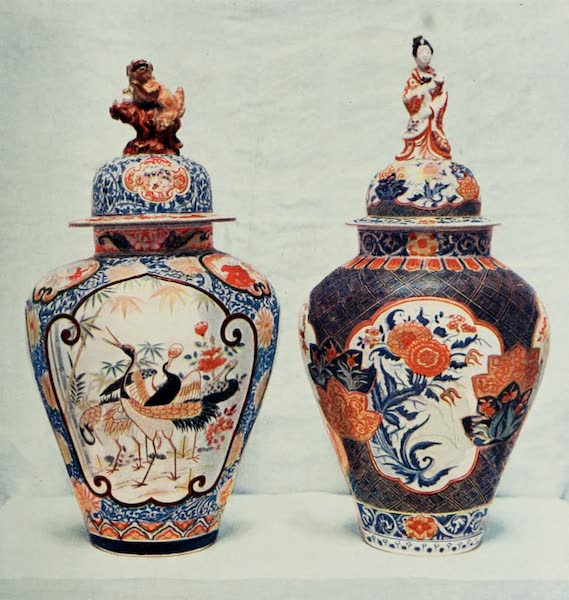 Japanese Porcelain - Imari Covered Jars (1909)