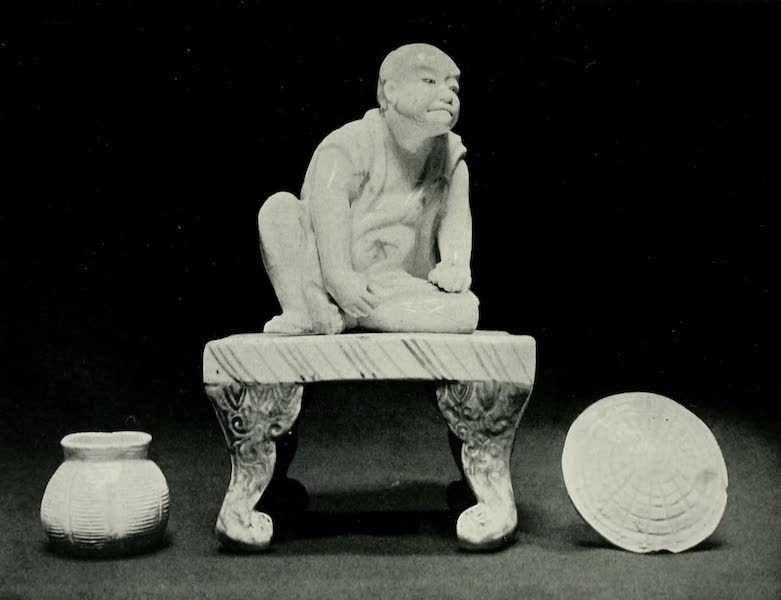 Japanese Porcelain - Figure on Stand (1909)