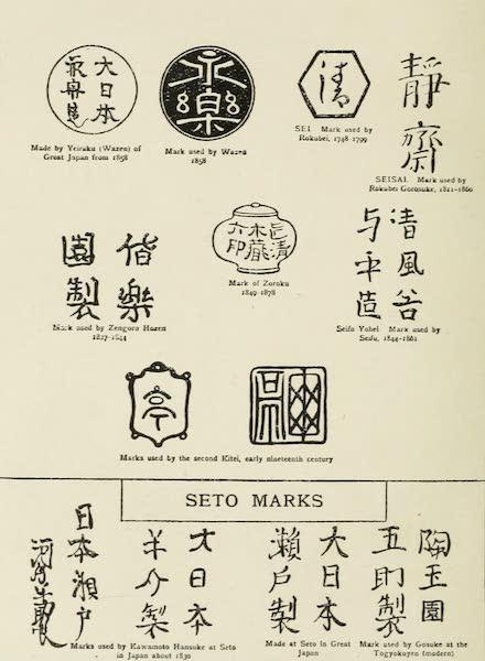 Japanese Porcelain - Japanese Marks [III] (1909)