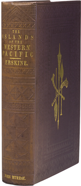 Journal of a Cruise Among the Islands of the Western Pacific - Book Display [I] (1853)