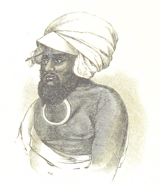 Journal of a Cruise Among the Islands of the Western Pacific - Navindi, Chief of the Fishermen, Feejee Islands (1853)