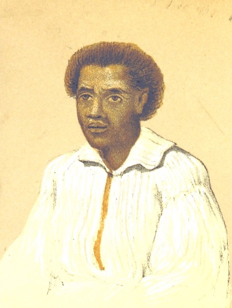 Journal of a Cruise Among the Islands of the Western Pacific - Maunca, Chief of Tutuila, Samoan Islands (1853)