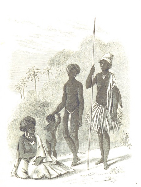 Journal of a Cruise Among the Islands of the Western Pacific - Women of Tana (1853)