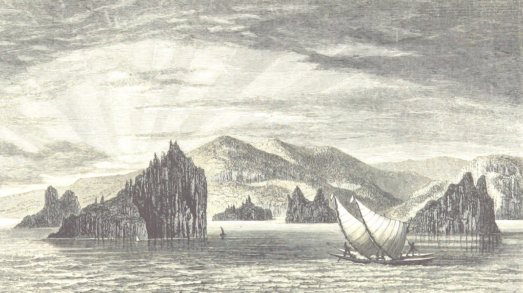 Journal of a Cruise Among the Islands of the Western Pacific - The Gates of Yengen, New Caledonia (1853)