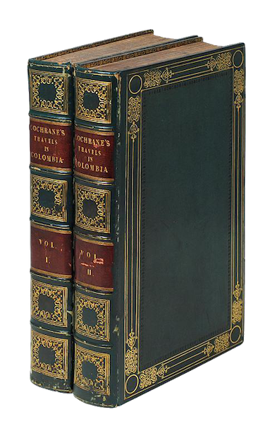 Journal of a Residence in Colombia Vol. 1 - Book Display (1825)