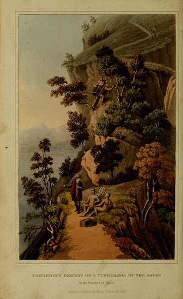Journal of a Residence in Colombia Vol. 2 - Precipitous Descent of a Cordillera of the Andes in the Province of Choco (1825)