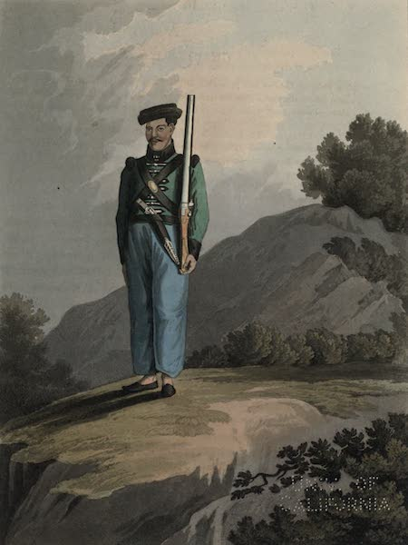Journal of a Route Across India - Gorkah Soldier (1819)