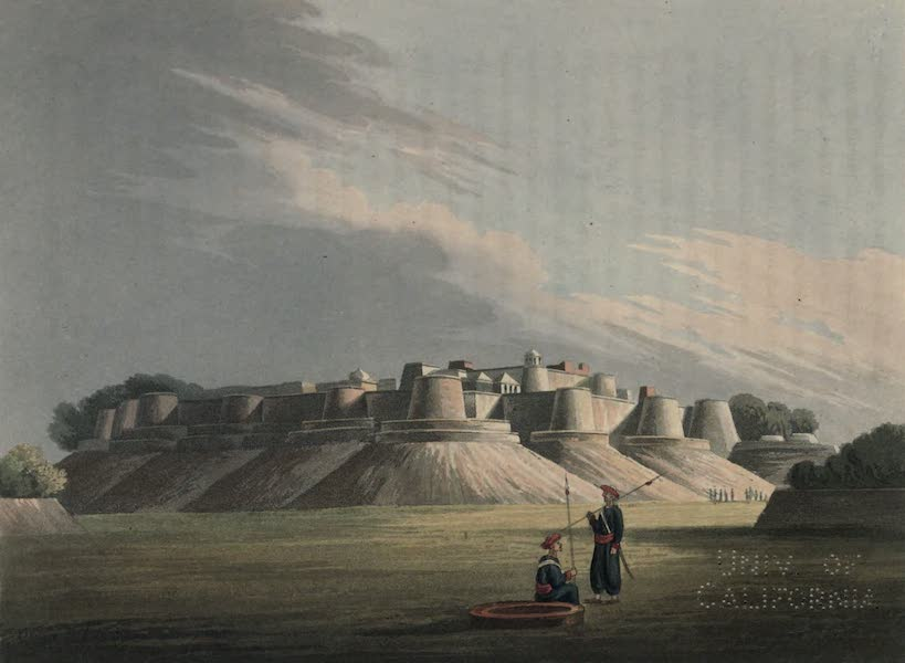 Journal of a Route Across India - Hattrass, the Fort of Diub Ram (1819)