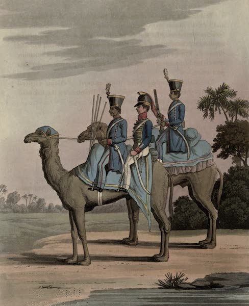 Journal of a Route Across India - Rocket Corps and Dromedary Corps. Bengal Army 1817 (1819)