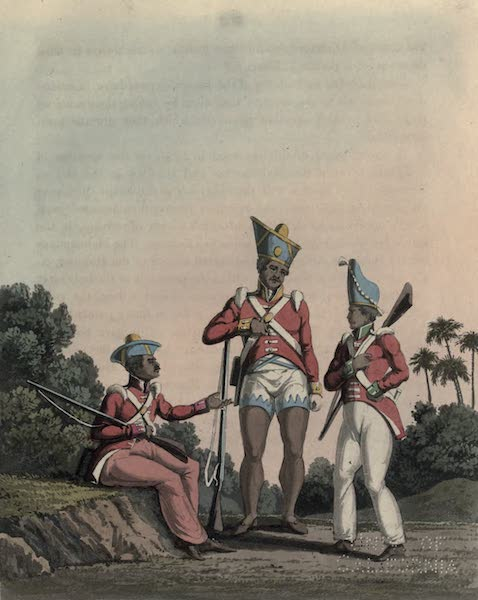 Journal of a Route Across India - Seapoys of the Bombay, Bengal and Madras Armies (1819)