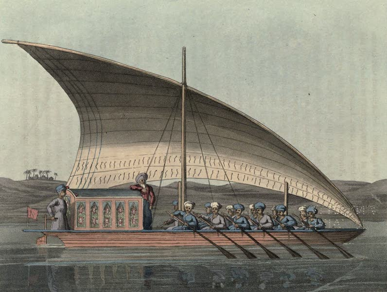 Journal of a Route Across India - A Khanga on the River Nile (1819)