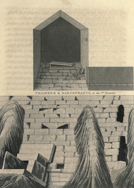 Journal of a Route Across India - Chamber and Sarcophagus (1819)