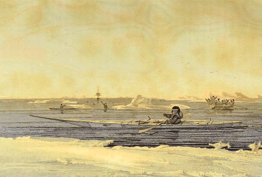 Canoe of the Savage Islands, Hudson's Strait