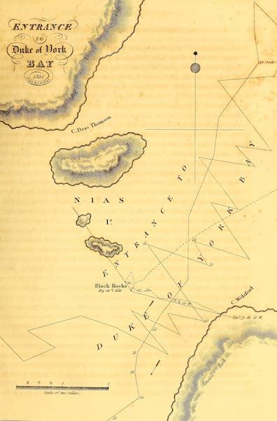 Plan of Duke of York Bay