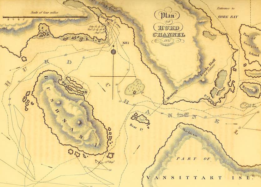 Plan of Hurd Channel