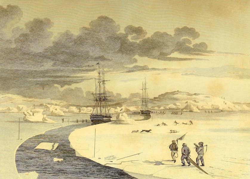 Cutting into Winter Island, October, 1821