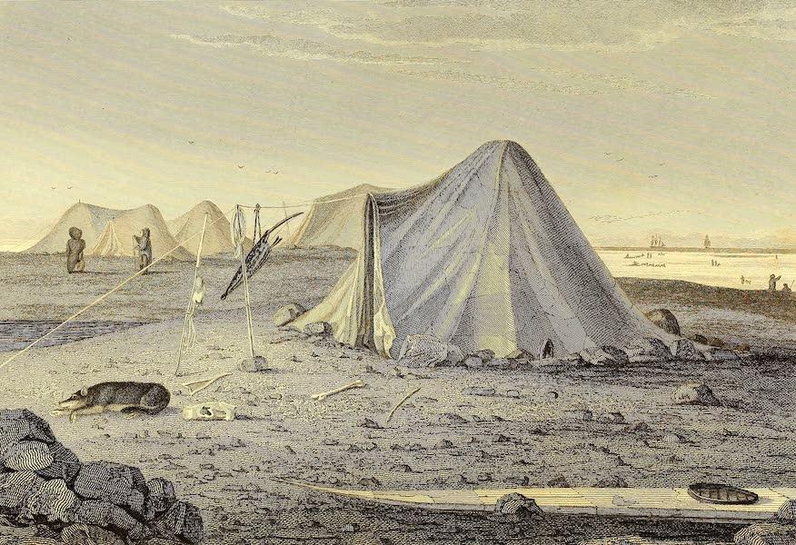 Summer Tents of the Esquimaux. Igloolik, 1822
