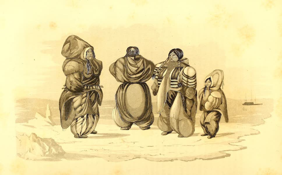 Journal of a Second Voyage for the Discovery of a North-West Passage - Groupe of Esquimaux at Igloolik (1824)