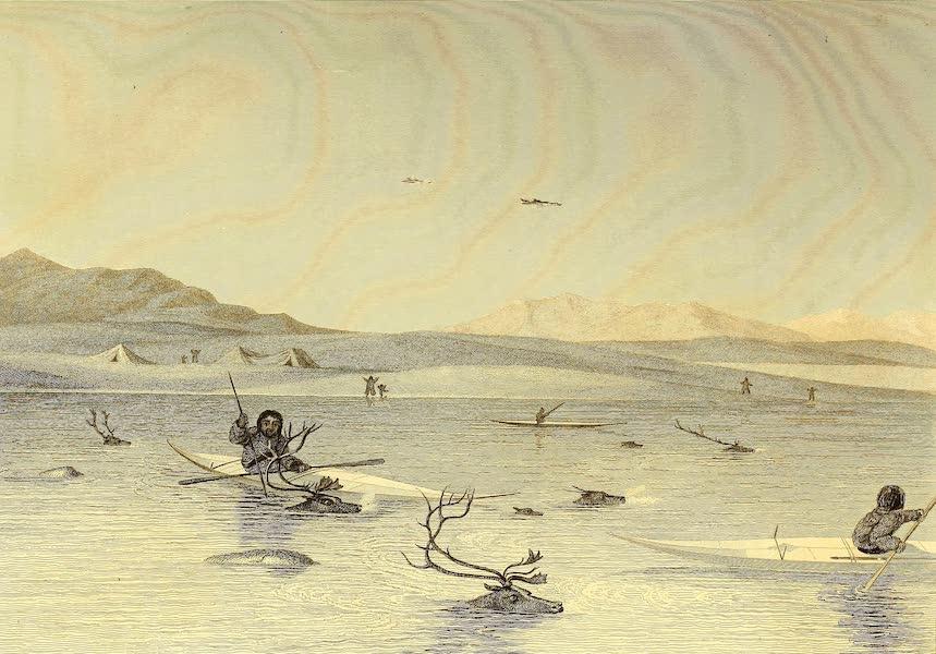 Esquimaux killing Deer in a Lake