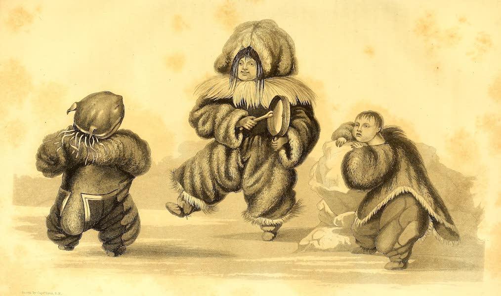 Esquimaux Children Dancing, Igloolik, 1823