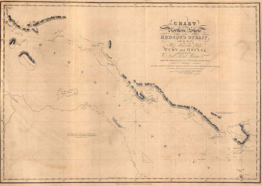 Chart of the Northern Shore of Hudson's Strait, &c. &c.