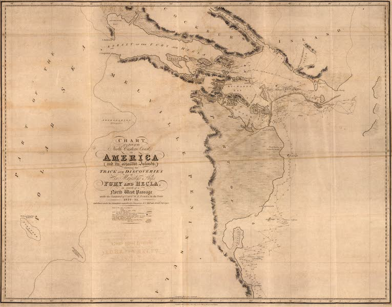 Chart of the North-eastern Coast of America, &c. from Lat. 67° 40' to 70° 15'